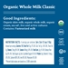 Organic Cottage Cheese Whole Milk Classic 4%, 16 oz - 859977005064