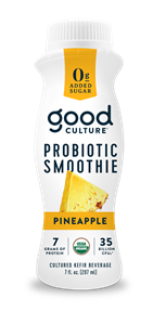 Pineapple Probiotic Smoothie, 7 oz